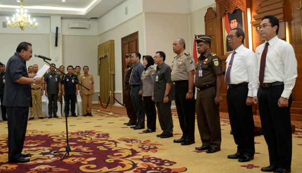 Unit Satgas Siap Sapu Bersih Pungli Provinsi Jatim