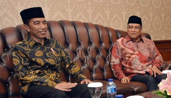 Presiden  Minta Polisi Jaga Persatuan NKRI