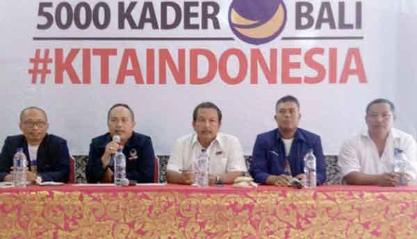 NasDem Bali Berangkatkan 5000 Kader Ikut Aksi 4 Desember di Jakarta