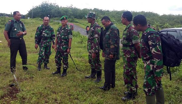 Pantau Luas Aset TNI, Kunjungi eks Perkebunan Kaligentong