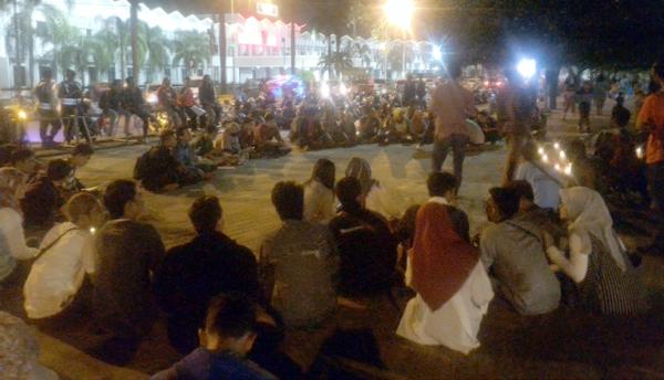 Aksi Solidaritas Jember untuk Kendeng Kecam  Ganjar Pranowo