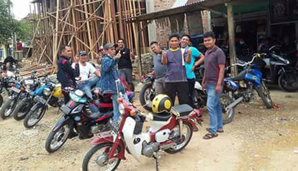Kopi Darat untuk Pererat Silaturahmi Sesama Anak Motor di Riau Jambi