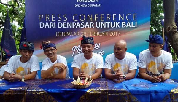 NasDem Denpasar Bulatkan Tekad Usung Rai Mantra Cagub Bali