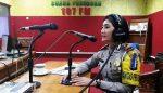Melalui Siaran Radio, Kasat Lantas Sosialisasi Operasi Simpatik Semeru 2017