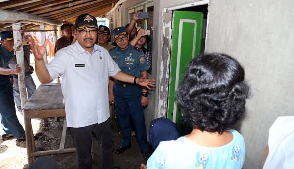 Tingkatkan Kesejahteraan Masyarakat Pesisir,  Renovasi 1.825 RTLH