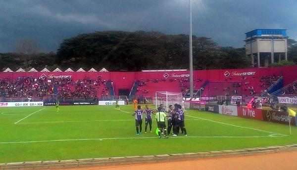 Persik Ganyang Perssu 4-0 di Pertandingan Perdana