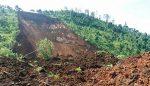 Longsor Timbun Jalan ke Kampung Mantan Presiden SBY