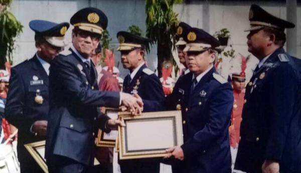 Kadiv Pemasyarakatan Jatim Raih Penghargaan Menteri Hukum dan HAM