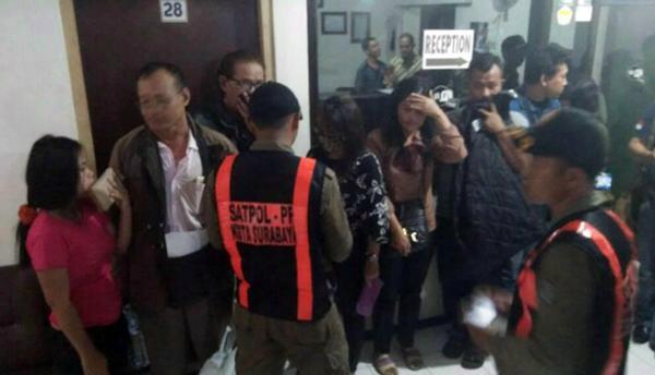 Hotel Hasma Jaya Dirazia, Pelaku Trafficking dan Pasangan Mesum Diamankan