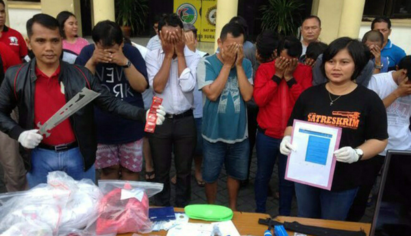 Batal Pesta Seks di Madiun, Digerebek di Surabaya