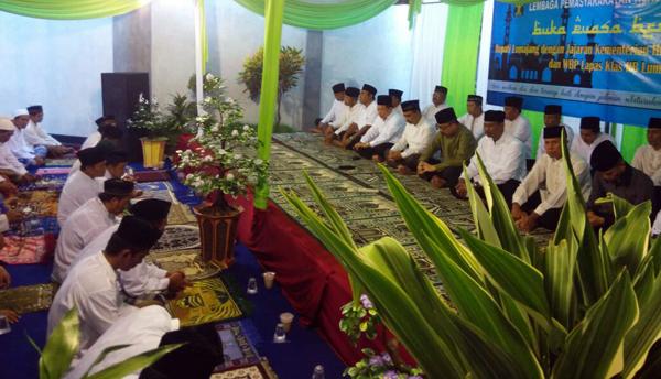 Bupati As'ad Buka Puasa, Sambung Silaturahmi Warga Binaan Lapas