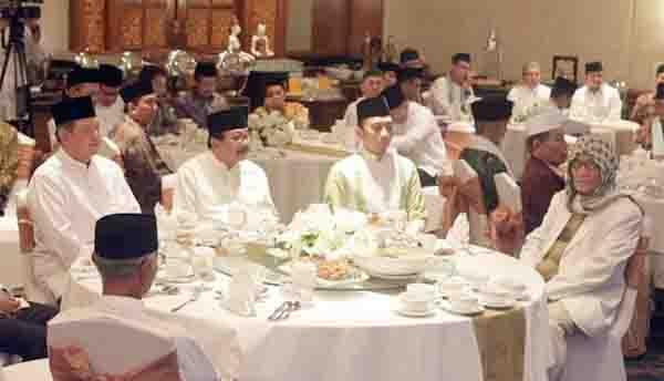 SBY Kangen Bertemu Tokoh Agama di Jawa Timur