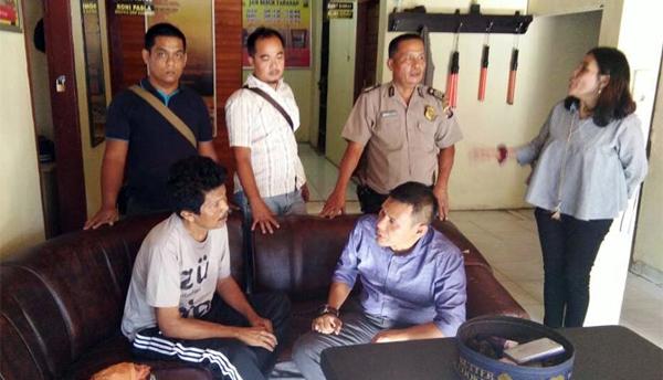 Dikawal Jaksa, Tahanan Kabur, Kembali Ditangkap Polsek Kuantan