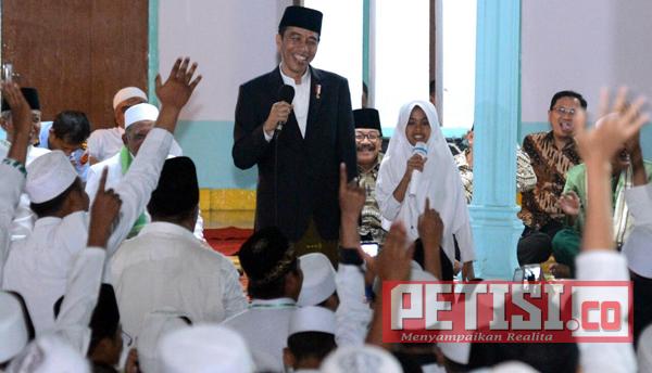 Jokowi Ajak  Masyarakat Hidup Rukun dan Saling Peduli
