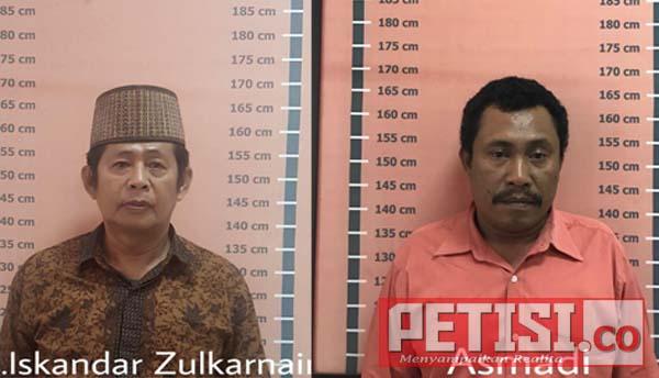 Dua Tersangka Korupsi Hibah Pemkot Ditahan