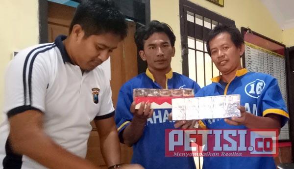 Reskrim Polres Pasuruan Bekuk Dua Pembobol Agen Rokok