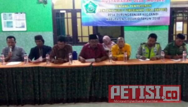 Babinsa Durung Banjar Hadiri Musyawarah dan Perencanaan Pembangunan Desa