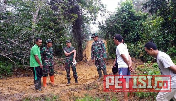 Kaster Korem 032/WBR Kunjungi Pencetakan Sawah di Dharmasraya