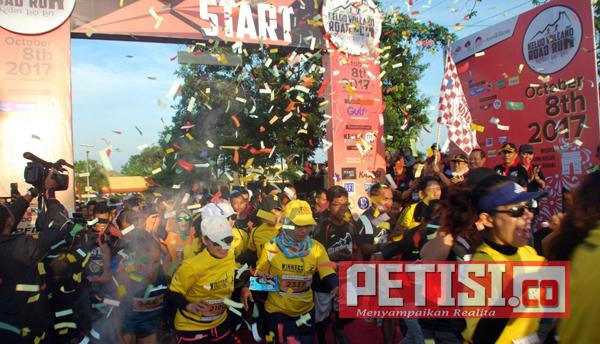 600 Peserta Ikuti Kelud Vulcano Road Run 2017