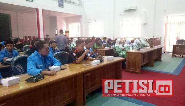 OKP se-Kabupaten Pacitan Audiensi dengan DPRD