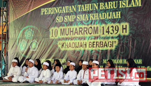 Yayasan Khadijah Beri Santunan dan Gelar Festival Siswa
