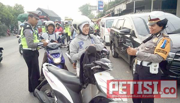 Satlantas Polres Pasuruan Tilang 10497 Pengendara