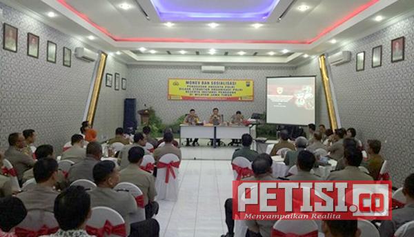 SSDM Polri Adakan Monev dan Sosialisasi Penugasan Anggota Polri Diluar Struktur Organisasi Polri