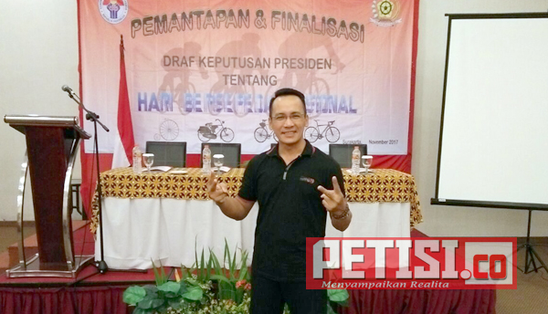 Kepala Desa Jombok Wakili Kabupaten Jombang  Ikuti Pemantapan Presiden RI