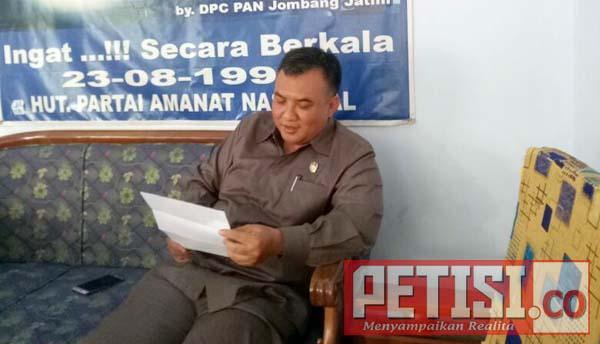 Partai PAN Ajukan Ali Fikri Untuk Dampingi Bupati