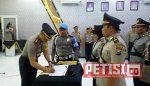 Kapolres Bojonegoro Pimpin Sertijab Kasat Reskrim dan Kasat Binmas