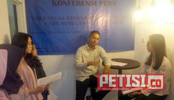 Barisan Garuda Pancasila Tolak Segala Bentuk Provokasi di Tahun Politik