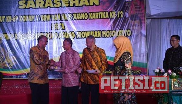Pangdam V/Brawijaya Resmikan Renovasi Pendopo Agung Trowulan