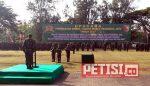 Upacara Penyerahan Simbol  Peleton Yudha Wastu Pramuka Jaya