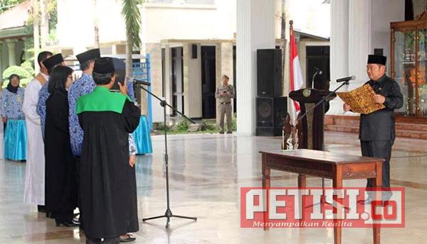 Sebanyak 331 Pejabat  Fungsional Pemkab Sidoarjo Dilantik