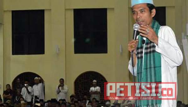 Abdul Somad Singgung Hikmah Dibalik Penghargaan Bupati Sijunjung