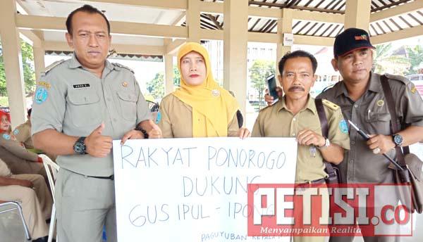 Ratusan Kades Ponorogo Dukung Ipong Dampingi Gus Ipul