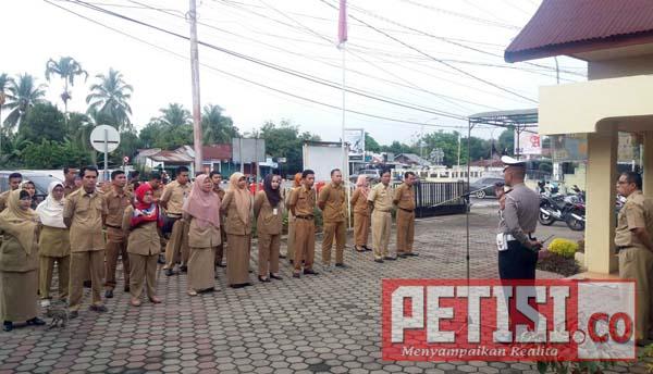 Kasatlantas Sijunjung Ajak Dinas Kominfo Kampanyekan Tertib Berlalulintas