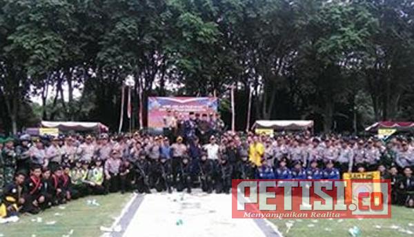 Polres Bojonegoro Apel Gelar Pasukan dan Simulasi Sispamkota
