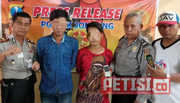Transaksi Pil Koplo, Warga Palerejo Diciduk Reskrim Polsek Jombang