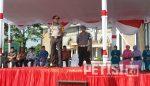 Polres Jombang Gelar Apel Pasukan Jelang Pilkada Serentak 2018