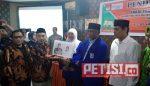 Mas Abu-Ning Lik Jadi Pendaftar Pertama di KPU Kota Kediri