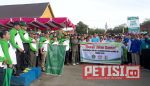 Gerak Jalan Hari Bhakti Kerukunan Kementrian Agama Nasional di Kuansing