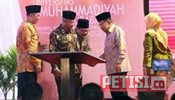 Jusuf Kalla  Minta Sidang Tanwir I Aisyiyah 2018 Mampu Rumuskan Ekonomi Masa Depan