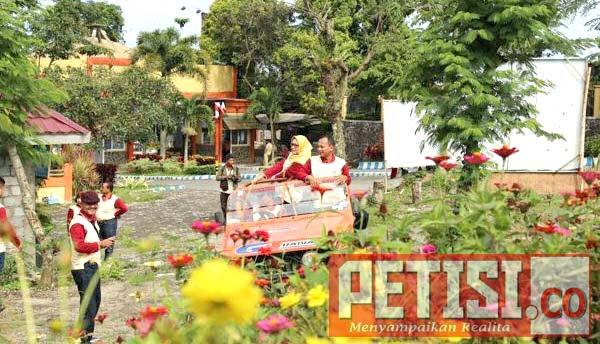 BKKBN Provinsi Jatim Kagumi Keindahan Wisata Gunung Kelud Kediri