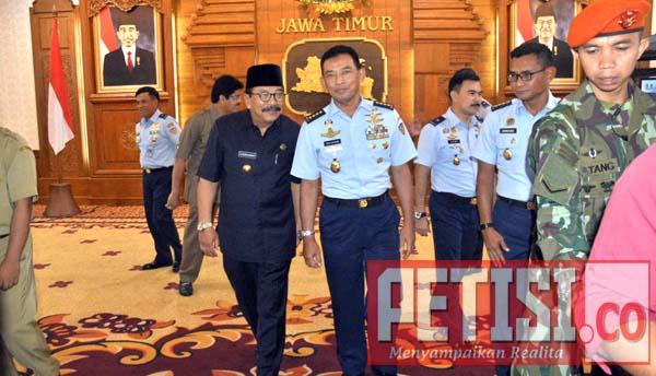 Pemprov Jatim MoU Dengan TNI AU