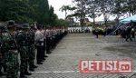 TNI-Polri  Pemkab Bojonegoro Apel Kesiapsiagaan Tanggap Darurat Banjir