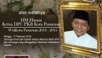 Ketua DPRD Kabupaten Pasuruan Turut Berduka Cita Atas Meninggalnya HM Hasani