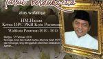 PWI Pasuruan Turut Berduka Cita Atas Meninggalnya HM Hasani