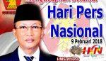 Ketua DPC Gerindra Kabupaten Pasuruan Mengucapkan Selamat Hari Pers Nasional 2018