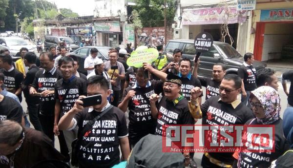Deklarasi Tolak dan Lawan Politik Uang dan Politik SARA Pilkada 2018 di Jombang